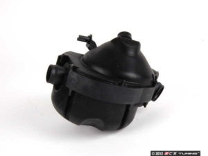 BMW crankcase ventilation valve and separator