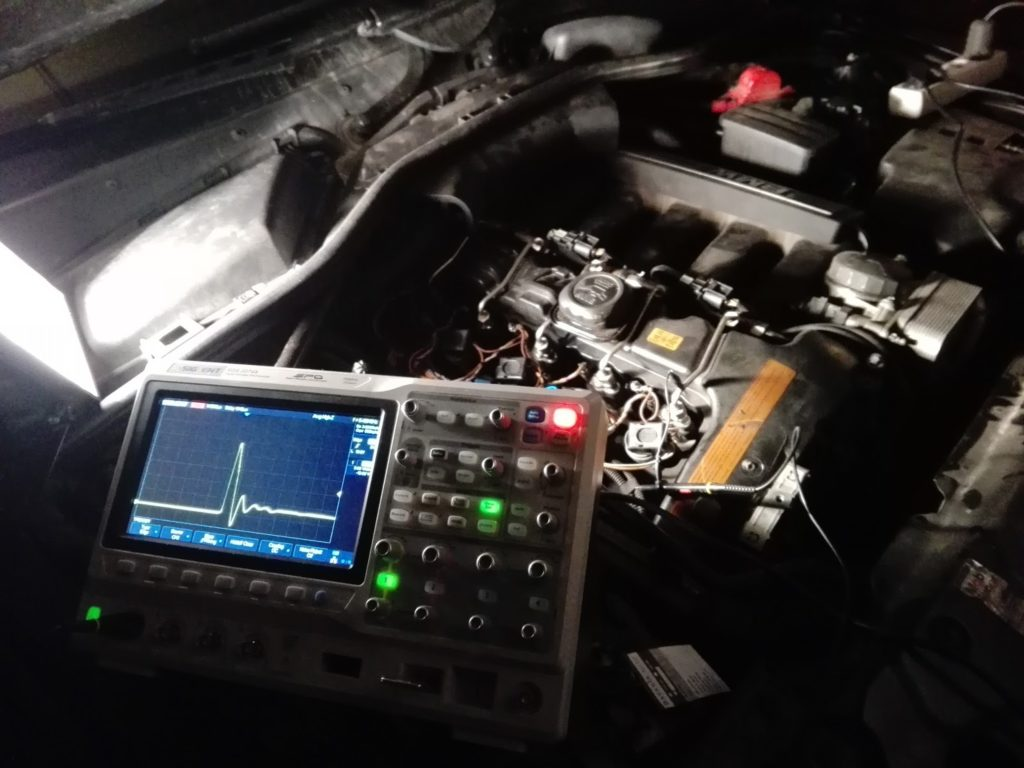 BMW igniton diagnostics