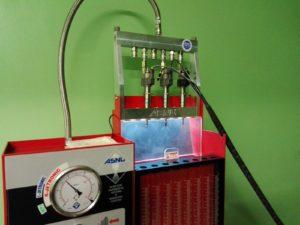 ASNU injectors test equipment