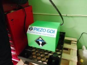 ASNU piezo injectors test adapter