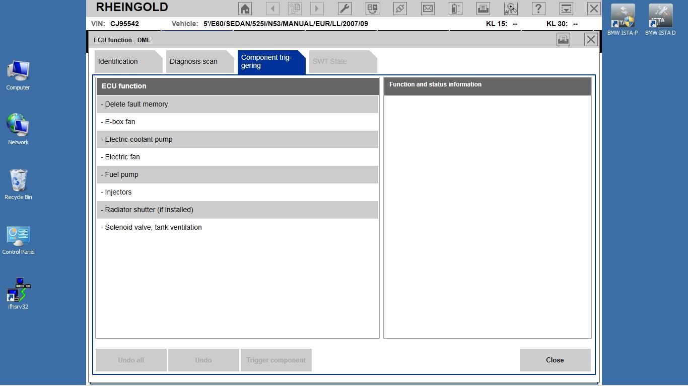 MSD80 diagnostics using ISTA D | Bimmerprofs com |